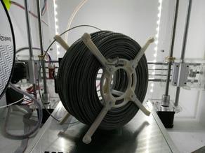 Simple and big filament spool