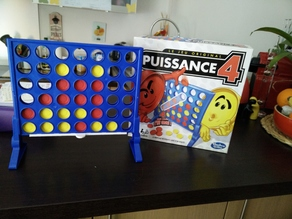 Connect 4 (puissance 4) coin holder