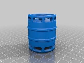 R/C scale barrel