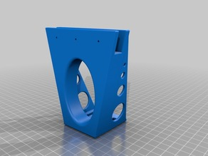Top frame Bowden mount Prusa I3 10mm acrylic frame