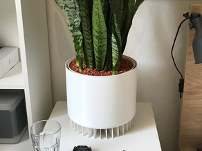Biological air purifier, indoor planter, plant pot (Medium)
