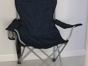 Folding Camp Chair Base