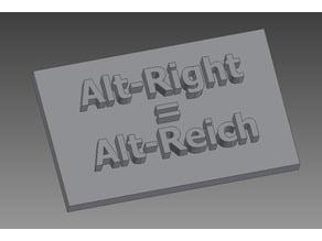 Alt-Right Stamp & Stencil