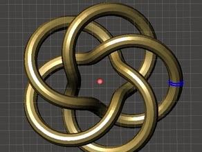 Pentagonal Torus Knot