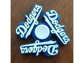 LA Dodgers Fidget Spinner #2 - Wingnut2k