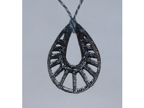 Oval Cut Out Pendant