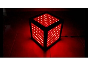 infinity Mirror Illusion LED-Cube