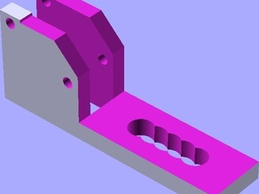 z_switch holder for heated bed