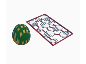 Easter Egg puzzle business card