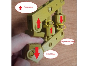 Sliding Hinge for Hand-Screw Clamp - correct strength point