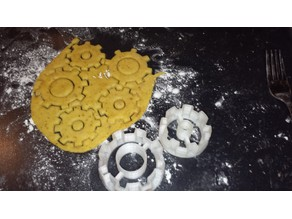Steampunk Gear Cookie Cutter i2