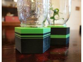 Mason Jar Mini Greenhouse