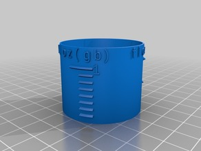 My Customized Measuring Cylinder