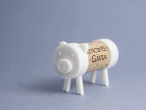Cork Pals: The Pig