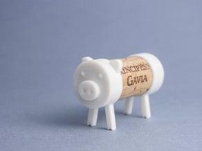 Cork Pals: The Pig