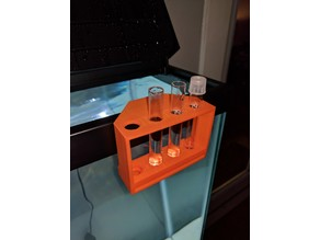 Hang On Fish Tank Test Tubes Holder