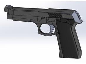 Rubber gun - beretta
