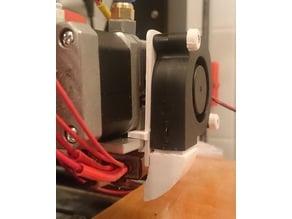 CTC i3 MK8 radial fan holder (for MK10 extruder)