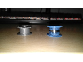 Unibody pulley for 684ZZ ball bearing