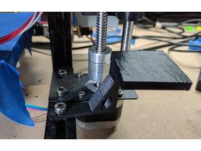 Webcam Camera Platform for T-slot printer frame