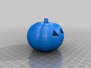 My Customized Jack-O-Lantern