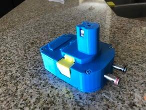 Ryobi Battery Pack to AC Adapter