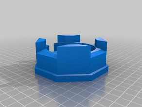 Octagonal Pill box for 28mm Historical and Sci-fi wargaming