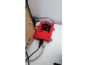 BigFoot Raspberry Pi 3 B/B+ Case