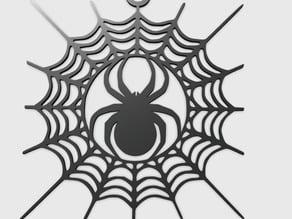 Spider Cobwebs Pendant