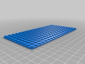 Lego Base plate 20x10