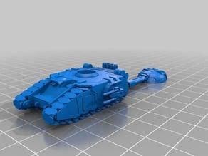 Marine battle tank