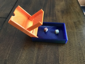 Portable Dice Tower with 16 mm Dice