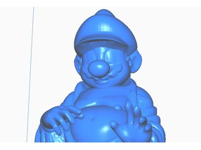 Super Mario Buddha w/hands (Retro Collection)