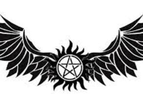 Supernatural Angel Pentagram Pendant/Key-chain