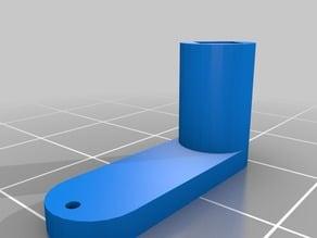 Eflite Convergence motor mount push lever