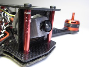 ZMR250 FPV Camera with integrated OSD and Tilt-Mount