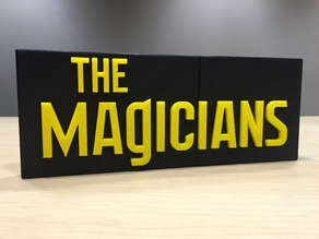 The Magicians - Main Title Logo