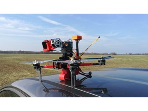 Gimbal adapter for drones - GoPro connector
