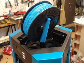 Overlord 3D Printer - Simple big filament roll holder