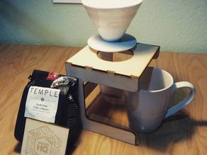 Laser Cut Pour Over Stand