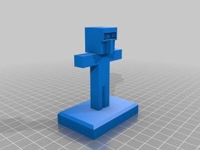 minecraft figure 5 (star lord)