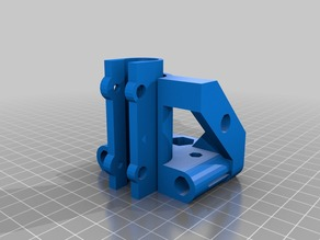 X ends for Prusa for Use With Z Isolator