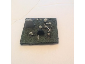 Decrepit Cemetery Miniature
