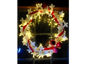 Customizable Xmas Wreath