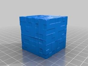 Minecraft Blank Block - Textured (paint it to be any random block)