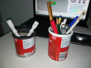 Reuso latas