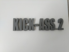 Kick Ass 2 Logo (Marvel)