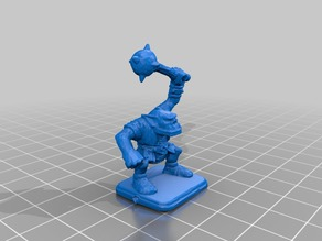 Hero Quest Orc with mace
