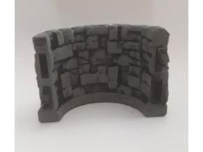 Stone - Demi Cercle - Wall 2x1