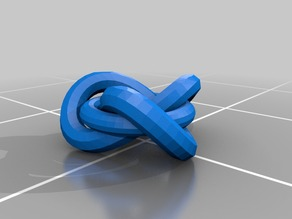 linked trefoil and torus
